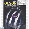 "Olson BM82264 64-1/2"" x 1/2"" x 14/18 TPI Metal Cutting Band Saw Blade"