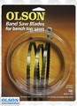 "Olson WB51659BL 59-1/2"" x 1/8"" x 14 TPI Band Saw Blade Replaces Delta 28-176"