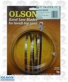 "Olson WB55359BL 59-1/2"" x 1/4"" x 6 TPI Band Saw Blade Replaces Delta 28-177"