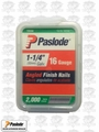 "Paslode 650230 2000pk 1-1/4"" 16 Gauge Angled Finish Nails"