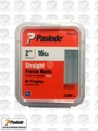 "Paslode 650285 Box of 2,000 2"" 16 Gauge Pneumatic Finish Nails"