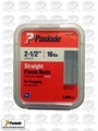 "Paslode 650287 Box of 2,000 2-1/2"" 16 Gauge Pneumatic Finish Nails"