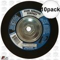 "Pearl FAC7036H 10pk 7"" Flexible Grinding Wheel w/5/8"" - 11 thread Hub"