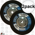 "Pearl FAC7036H 2pk 7"" Flexible Grinding Wheel w/5/8"" - 11 threaded Hub"