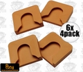 Pony 7456 Set of 4 Protective Bar Clamp Replacement Pads
