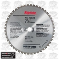 "Porter-Cable 12830 7-1/4"" x 48T Carbide Circular Saw Blade Ferrous Metal"