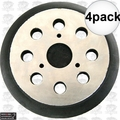"""Porter-Cable 151281-08 4pk 5"""" Hook and Loop Replacement Backing Pad"""