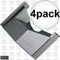 """Porter-Cable 43745PC 4pk 1-1/4"""" Hinge & Lock Face Mortising Cutter"""