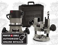 Porter-Cable 694VK 1-3/4 HP Variable-Speed Multi-Base Router Kit