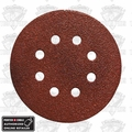 "Porter-Cable 735800825 80 Grit 5"" Hook & Loop Sanding Discs"