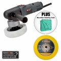 "Porter-Cable 7424XP 6"" Dual Action Car Polisher Kit w/ 5"" Velcro Backing Pad"
