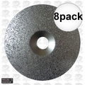 "Porter-Cable 823932 8pk 6"" x 24 Grit Carbide Grit Disc aka 18030"