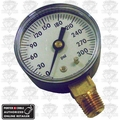 "Porter-Cable PAS6 Air Pressure Gauge - 300 PSI, 1/8"" NPT"