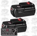 Porter-Cable PC18B-2 Dual Pack NiCd Cordless Battery
