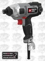 Porter-Cable PCE201 1/4'' Hex Corded Impact Driver