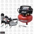Porter-Cable PCFP12234 3 Tool Nailer Stapler Compressor Combo Kit