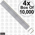 "Porter-Cable PUS38G 4x Box of 10,000 3/8"" x 3/8"" 22 Gauge Upholstery Staples"