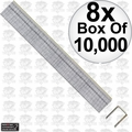 "Porter-Cable PUS38G 8x Box of 10,000 3/8"" x 3/8"" 22 Gauge Upholstery Staples"