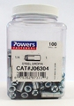 Powers Fasteners J06304 1/4 x 1 Steel Dropin