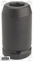 "Proto Tool J10044L 2-3/4"" 1"" Drive Deep Impact Sockets - 6 Point"