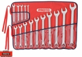 Proto Tool J1200F-MASD 15pc 7mm - 21mm Satin Combo Metric Wrench Set 12 PT