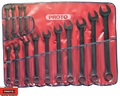 "Proto Tool J1200FBASD 14pc 3/8"" - 1-1/4"" Black Oxide Combination ASD Wrench Set"