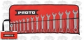 Proto Tool J1200MES-14 14pc 6mm - 19mm Combination Metric Short Wrench Set 14 Piece