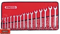 Proto Tool J1200P-MASD 15pc 7mm - 32mm Satin Combo Metric Wrench Set 12 PT