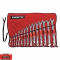 Proto Tool J1200P-MASD-TT 15pc 7mm - 32mm Metric Combo ASD Wrench Set