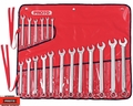 Proto Tool J1200R-MASD 18pc 7mm-24mm Satin Combo ASD Metric Wrench Set 12 PT