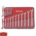 "Proto Tool J1200SPL 15pc 1/4"" - 1"" SAE Combination Wrench Set 12 Point"