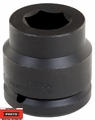"Proto Tool J15065M 1-1/2"" Drive Impact Socket 65mm 6-Point"