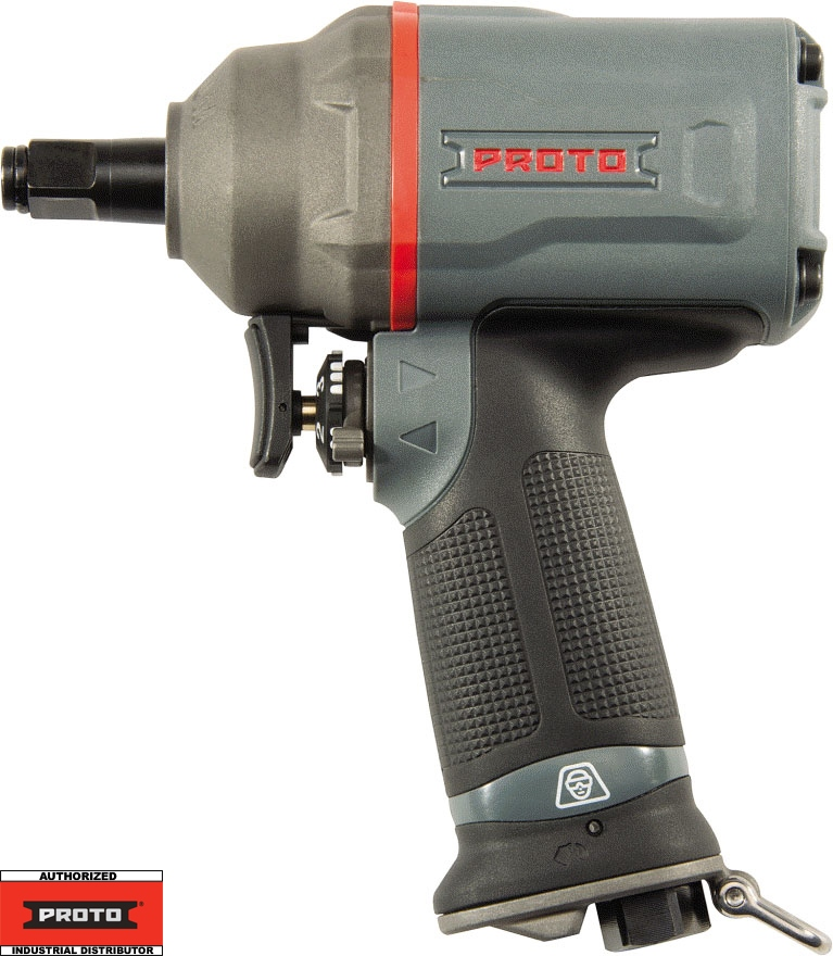 "Proto Tool J150WP-C 1/2"" Compact Air Impact Wrench 590 ft/lbs - Tether"