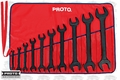 Proto Tool J3000HB Black Oxide Open End Wrench Set