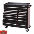 "Proto Tool J444142-15BK 15 Drawer 41"" Black Workstation"