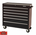 "Proto Tool J444142-6BK 6 Drawer 41"" Black Workstation"