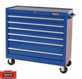 "Proto Tool J444142-6BL 6 Drawer 41"" Blue Workstation"