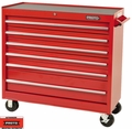 "Proto Tool J444142-6RD 6 Drawer 41"" Red Workstation"