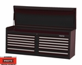 "Proto Tool J445419-12BK 12 Drawer 54"" Black Top Chest"