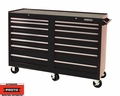 "Proto Tool J445442-14BK 14 Drawer 54"" Black Workstation"