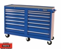 "Proto Tool J445442-14BL 14 Drawer 54"" Blue Workstation"