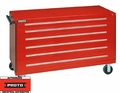"Proto Tool J45030 6 Drawer 60"" Red Workstation"