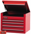 "Proto Tool J453427-4RD 4 Drawer 34"" Red Top Chest"