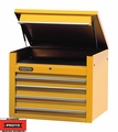 "Proto Tool J453427-4YL 4 Drawer 34"" Yellow Top Chest"