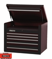 "Proto Tool J453427-5BK 5 Drawer 34"" Black Top Chest"