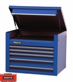 "Proto Tool J453427-5BL 5 Drawer 34"" Blue Top Chest"
