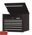 "Proto Tool J453427-6BK 6 Drawer 34"" Black Top Chest"