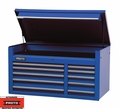 "Proto Tool J455027-10BL 10 Drawer 50"" Blue Top Chest"