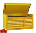 "Proto Tool J455027-12YL 12 Drawer 50"" Yellow Top Chest"