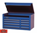"Proto Tool J455027-8BL 8 Drawer 50"" Blue Top Chest"